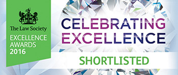 Excellence in Learning and Development category of the prestigious, national, Law Society Excellence Awards Shortlisted